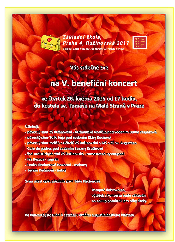 Pozvánka na koncert 26