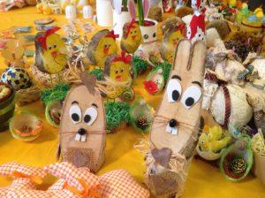 Velikonoční trhy - práce našich žáků- duben 2019