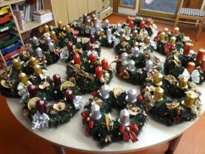Vánoční trhy ve škole - listopad 2020