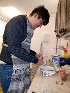 Pracovní výchova - práce v domácnosti - únor 2021
